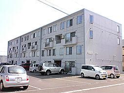 北海道札幌市北区新川六条16丁目の賃貸マンションの外観