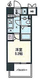 ヴェルステージ川崎[1004号室]の間取り