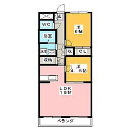 宮崎ビル[3階]の間取り