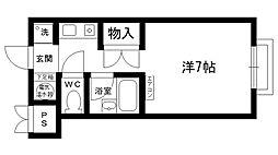 サンライト仁川[305号室]の間取り