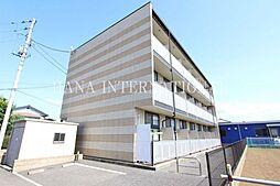 埼玉県川口市大字西新井宿の賃貸マンションの外観