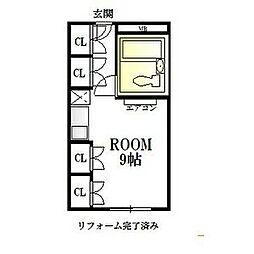 高岳駅 3.7万円