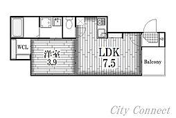 La Fille Gokiso[3階]の間取り
