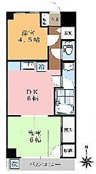 サークビル[2階]の間取り