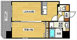 広島県広島市中区国泰寺町2丁目の賃貸マンションの間取り