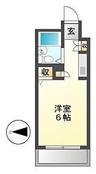 メゾン・ド・シャンテ[4階]の間取り