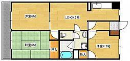 楠マンション[2階]の間取り