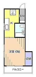 遠藤マンション[2階]の間取り