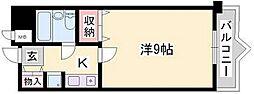 サニーガーデン[1階]の間取り