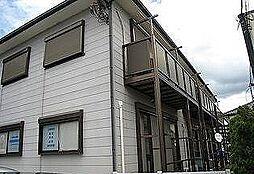 静岡県三島市南田町の賃貸アパートの外観