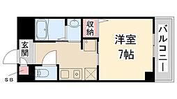 Enuz45[307号室]の間取り