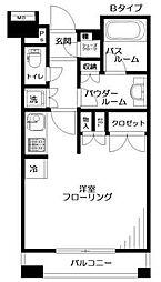 日神デュオステージ桜上水[3階]の間取り