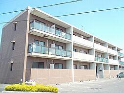 岡山県総社市門田の賃貸マンションの外観