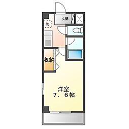 グランメゾン アフィネス[3階]の間取り