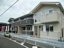 愛媛県新居浜市瀬戸町の賃貸アパートの外観