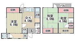 [一戸建] 兵庫県神戸市垂水区五色山4丁目 の賃貸【/】の間取り