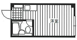 東京都豊島区南池袋3丁目の賃貸マンションの間取り