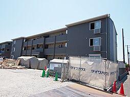茨城県神栖市大野原中央1丁目の賃貸アパートの外観