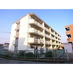 福岡県久留米市朝妻町の賃貸マンションの外観