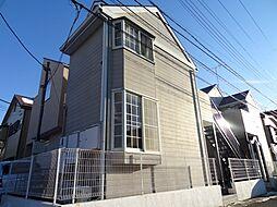 千葉県千葉市稲毛区稲毛3の賃貸アパートの外観