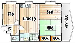アクセス赤坂[1階]の間取り