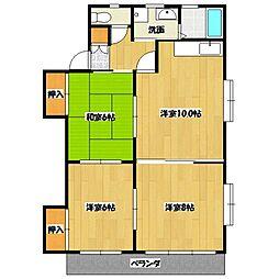 ニューエイジマンション[301号室号室]の間取り