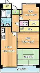 ハーモナイズ361[7階]の間取り