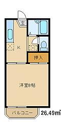 ソフトハイム[2階]の間取り