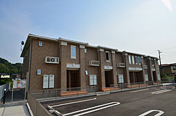 兵庫県赤穂市尾崎字沼水尾の賃貸アパートの外観