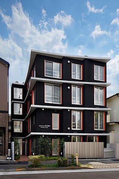 apartmentKURO三軒茶屋[3階]の外観