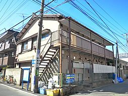 伸幸荘[201号室]の外観