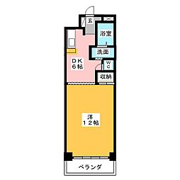 アンビション別明[2階]の間取り
