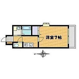 グランドゥール高殿[3階]の間取り