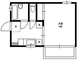 丸岡マンション[3階]の間取り