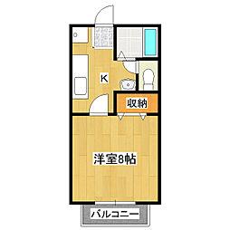 マイステージ33番館[1階]の間取り