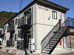 静岡県静岡市清水区蒲原2丁目の賃貸アパートの外観