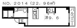 SQUARE(スクエア)[3階]の間取り
