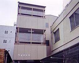 埼玉県草加市柳島町の賃貸アパートの外観