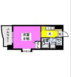 BRILLIANT36[4階]の間取り