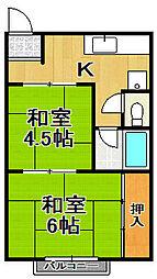 和田ビル本館[10階]の間取り