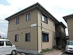 広島県東広島市西条朝日町の賃貸アパートの外観