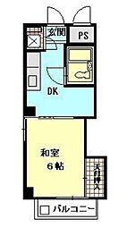 第二小泉ビル[3階]の間取り