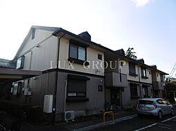 東京都三鷹市北野1丁目の賃貸アパートの外観