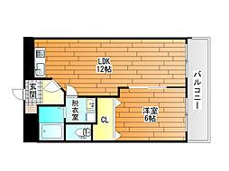 ファミティ2番館[5階]の間取り