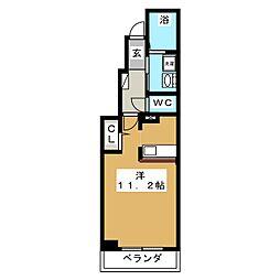 カモミールII[1階]の間取り
