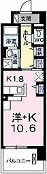ポーシェガーデン3[10階]の間取り