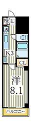 エスペランサM[3階]の間取り