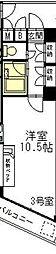 ジャパンハイツプリマベーラ六本松[8階]の間取り