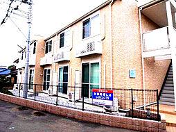 神奈川県藤沢市西富の賃貸アパートの外観