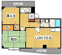 第3杉山ビル[205号室号室]の間取り